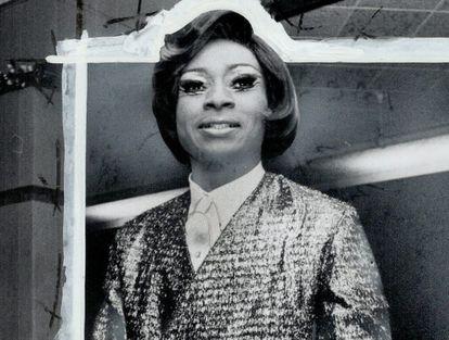 Jackie Shane num show em Toronto, em 1967.