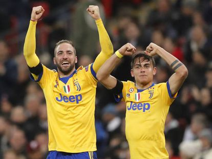 A dupla argentina que classificou a Juventus.