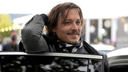 O ator e produtor Johnny Depp em Zurique, em outubro.