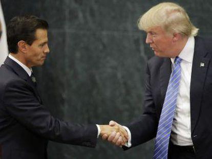 """O presidente mexicano e o candidato republicano tentam um """"diálogo construtivo"""" e contornam os assuntos mais espinhosos"""