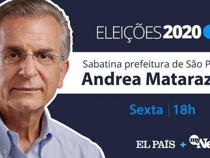 Andrea Matarazzo, candidato do PSD à Prefeitura de São Paulo.