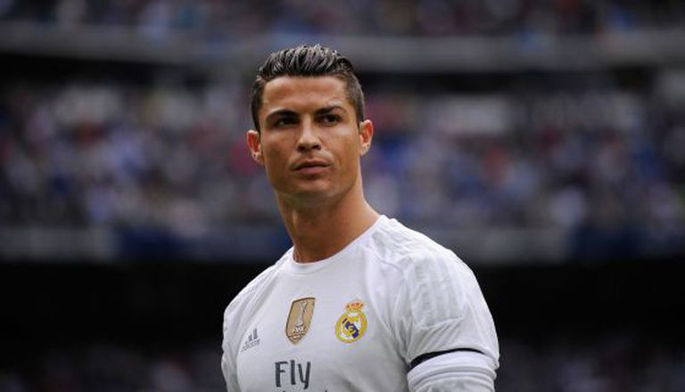 Cristiano Ronaldo durante partida do Real Madrid.