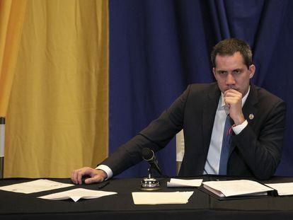 Juan Guaidó, líder da oposição a Nicolás Maduro.
