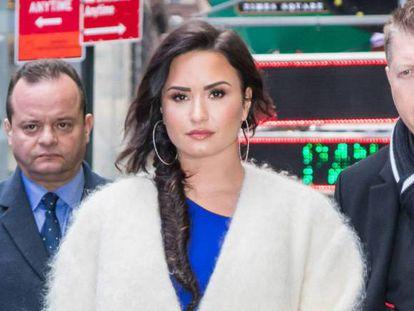 Demi Lovato, em uma foto de janeiro.