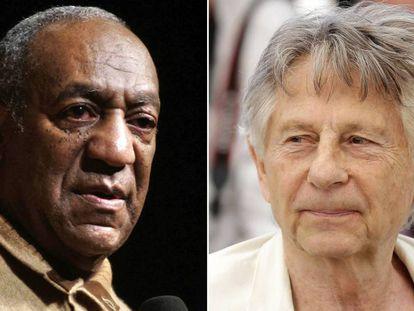 Bill Cosby y Roman Polanski, en imágenes de 2006 y 2017, respectivamente