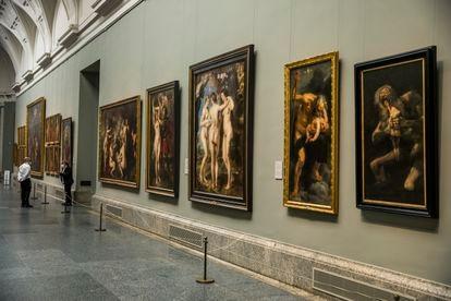 'As Três Graças', de Rubens, no Museu do Prado.