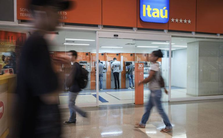 Agência do Itaú em Brasília.