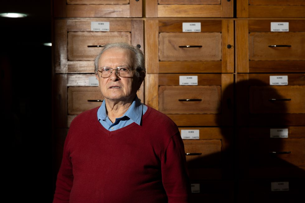 O aposentado José Luis Guerreta tem precatórios a receber do Governo em 2022, mas corre o risco de sofrer calote.