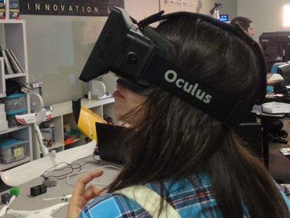 Experimentando o Oculus.