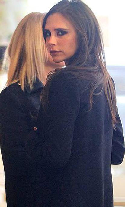 A cantora e estilista Victoria Beckham.
