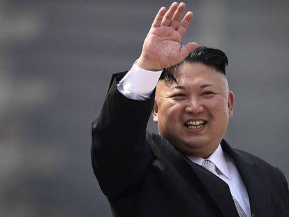 O ditador da Coreia do Norte, Kim Jong-un.