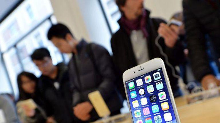 Loja da Apple em Turim (Itália).