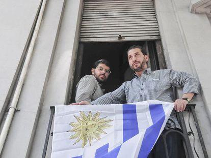 Dois dos ex réus de Guantánamo, em Montevideo
