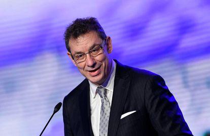 O presidente da Pfizer, Albert Bourla.