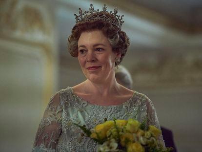 Olivia Colman, na quarta temporada de 'The Crown'