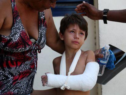 Família percorre quatro hospitais até ser atendida no Rio.