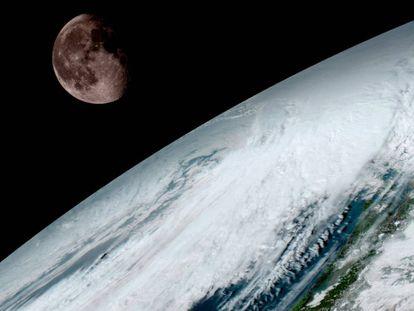 A Lua faz com que os ciclos climáticos da Terra sejam menos extremos