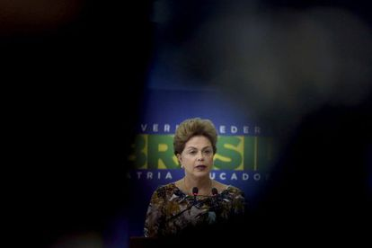 A presidenta Rousseff no dia 17, em Brasília.