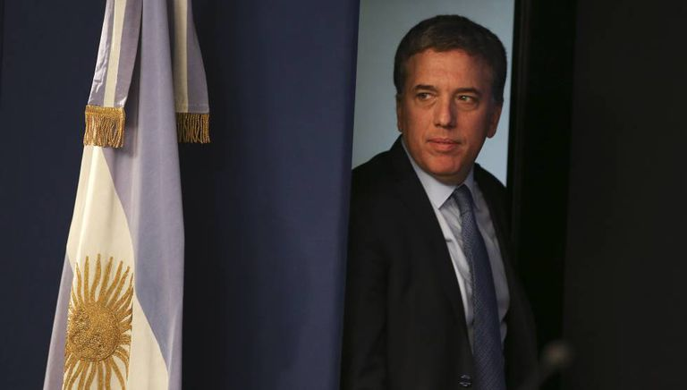 Nicolás Dujovne, em Buenos Aires.