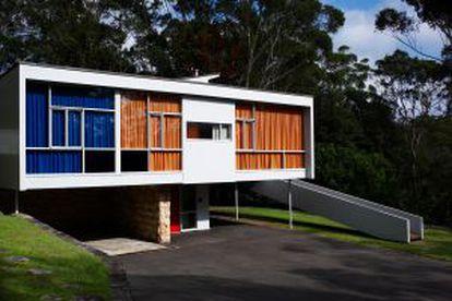 Casa Rose Seidler, em Sydney.
