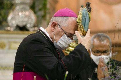 O arcebispo metropolitano de Belém, dom Alberto Taveira Corrêa.
