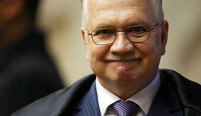 O ministro Luiz Edson Fachin, que anulou as condenação de Lula na Lava Jato.