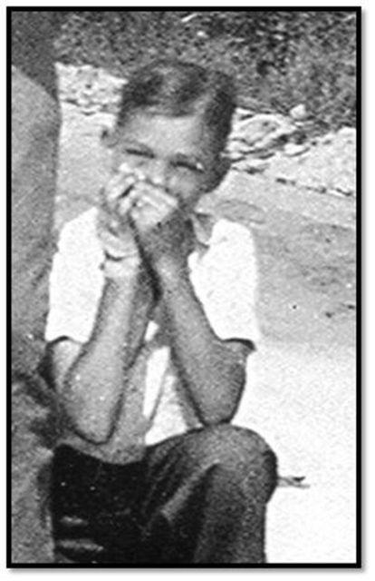 George Owen Smith, na última foto que a família tem dele