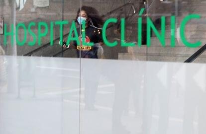 Hospital Clinic, em Barcelona.