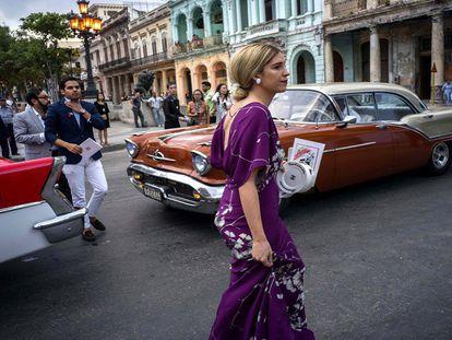 Desfile em Havana.
