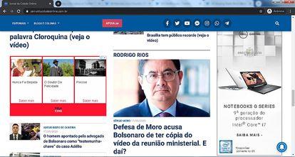 Telecine e Dell se comprometeram a vetar a anúncios em página denunciada por fake news.