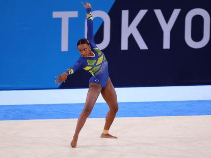 Rebeca Andrade dá show em Tóquio e se consagra medalhista de prata nos Jogos Olímpicos pela ginástica artística.