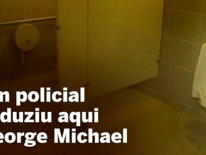 E George Michael transformou em arte o incidente com um policial em um banheiro