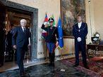El presidente Sergio Mattarella el pasado 22 de agosto en el palacio del Quirinal.
