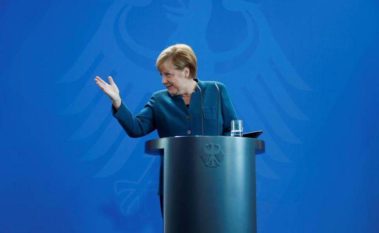 A chanceler Angela Merkel nesta quinta-feira.
