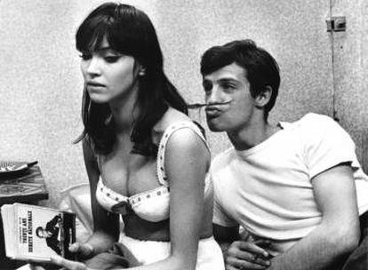 Jean Seberg em 'Bom Dia, Tristeza'.