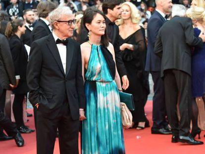 Festival de Cannes: Allen e sua esposa Soon Yi