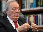 Ricardo Lewandowski, ministro do STF,  em seu gabinete em Brasília.