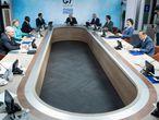 Reunión de los líderes del G-7 en la cumbre que se celebra en Cornualles.