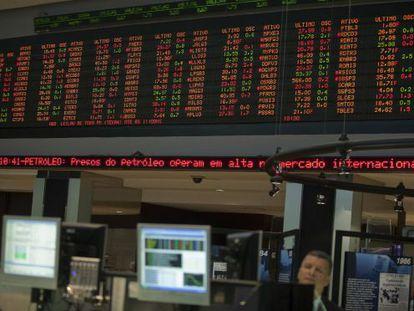 A abertura da Bolsa de São Paulo nesta segunda-feira.