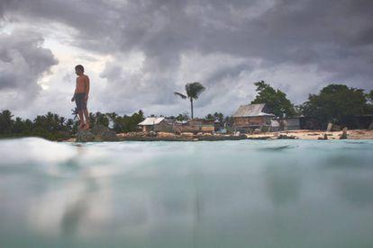 Imagem do documentário sobre Kiribati.