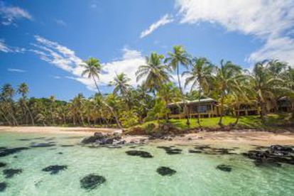 Yemaya Island resort, na Pequena Isla del Maíz (Nicarágua).