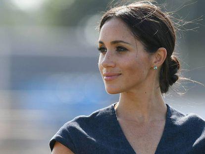 A duquesa de Sussex, Meghan Markle, em 2018.