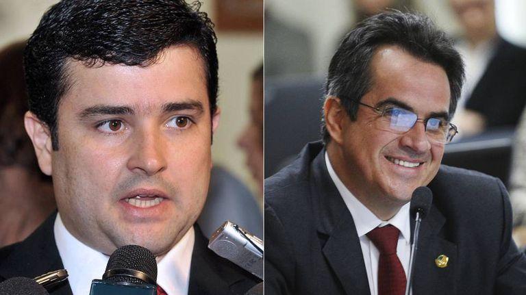 O deputado Eduardo da Fonte (PP-PE), à esquerda, e o senador Ciro Nogueira (PP-PI)