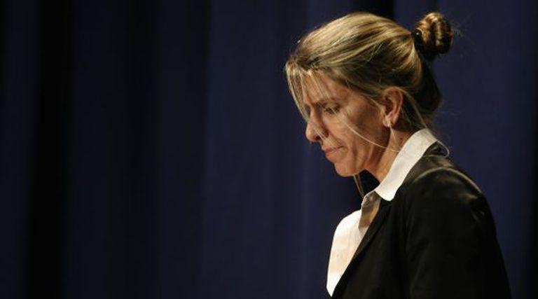 Sandra Arroyo Salgado, ex-esposa do promotor Nisman.
