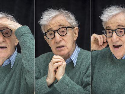 Woody Allen, em uma entrevista coletiva em Nova York no final de 2017.