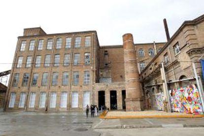 Abertura do novo Centro de Arte Contemporânea de Barcelona na reformada fábrica Fabra i Coats de Sant Andreu.