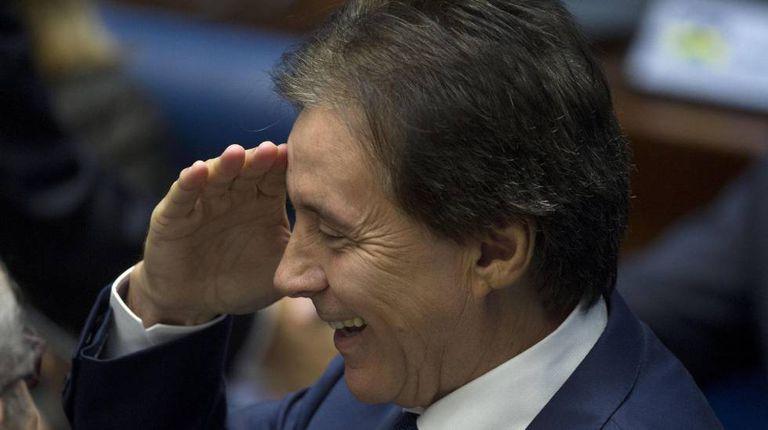 Eunício Oliveira, eleito presidente do Senado