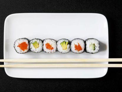 Alguém tinha que dizer: o 'sushi' não mata a fome