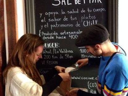 Sal de Cáhuil à venda.