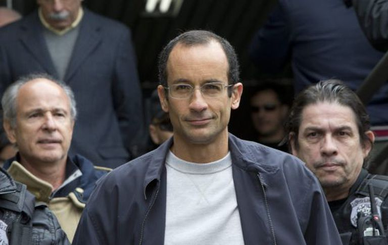Marcelo Odebrecht, presidente da Odebrecht, foi condenado a 19 anos de prisão.
